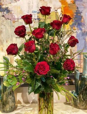 Classic Dozen Roses  in Benton, AR | FLOWERS & HOME OF BRYANT/BENTON