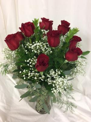 Classic Dozen Roses  in Medfield, MA | Lovell's Florist, Greenhouse & Nursery