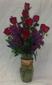 Classic Dozen Roses Red Rose Arrangement in Paragould, AR | BALLARD'S FLOWERS INC