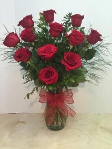 Classic Dozen Roses T&V Original