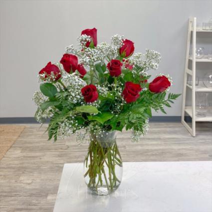 Classic Dozen Vase Arrangement
