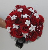 Rose Elegance Wedding Bouquet