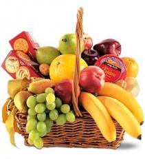 Assorted Fruit Basket         TF191-3 Fruit and Gourmet