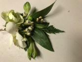 Classic Green Boutonniere
