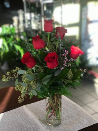 NON RED Half Dozen Roses