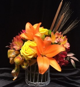 Classic Harvest Fall arrangement  in Brownsburg, IN | BROWNSBURG FLOWER SHOP