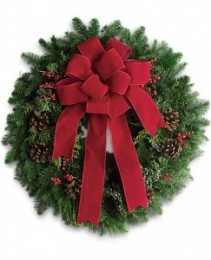 Classic Holiday Wreath Christmas