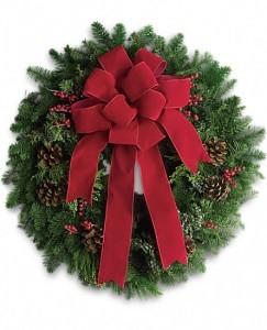Classic Holiday Wreath Christmas