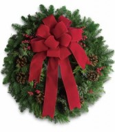Classic Holiday Wreath H1291A