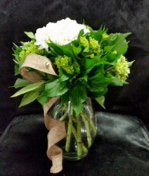Classic Hydrangeas Vase All Occasion