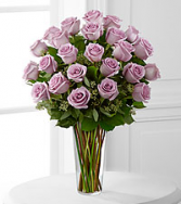 12, 18 or 24 Classic Lavendar Rose Rose Arrangement
