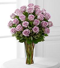 12, 18 or 24 Classic Lavendar Rose Rose Arrangement
