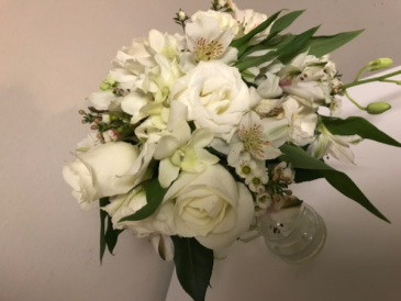 Classic Lily & Rose  Bridal Bouquet