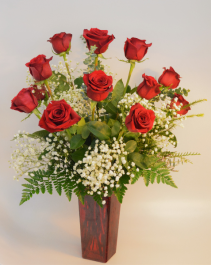 Classic Love Dozen Red Roses