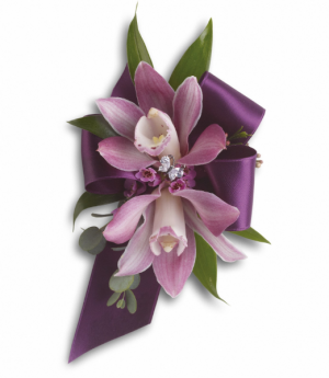 Classic Orchids Wrist Corsage in Tulsa, OK | THE WILD ORCHID FLORIST