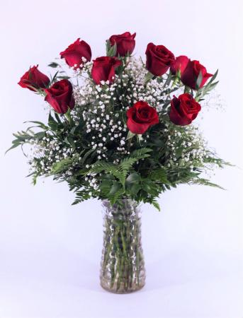 Classic Red Dozen Long-Stem Roses