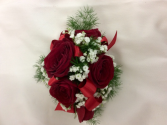 Classic Red Rose  Wristlet/Corsage