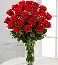 Classic Red Roses Rose Arrangement