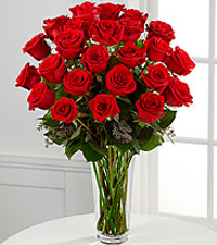 12, 18 or 24 Classic Red Roses Rose Arrangement in Sutton, MA | POSIES 'N PRESENTS