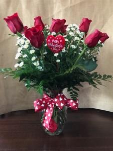 Classic Red Roses Valentine's