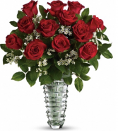 Classic Premium Longstem Roses Red Rose Arrangement