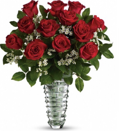 Classic Premium Red  Rose Arrangement