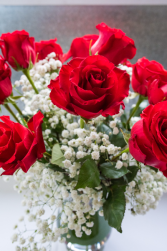 Classic Red with Liberty Roses 30