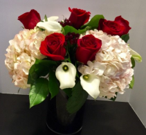 Classic Romance Vase arrangement