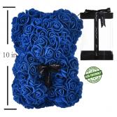 classic rose bear - blue
