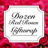 Classic Rose Dozen Giftwrap Valentine's Day
