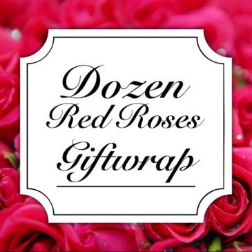 Classic Rose Dozen Giftwrap