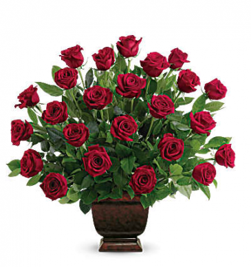 Classic Rose Tribute Sympathy Arrangement