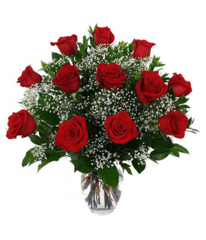 Classic Roses-1 Dozen  in Fort Wayne, IN | THE FLOWER SHOP