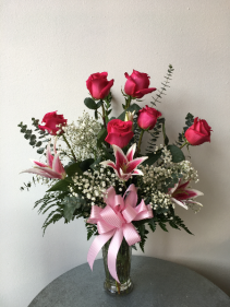 Classic Roses and Lilies