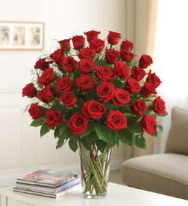 Classic Four Dozen Roses In Kettering Oh Flowerama