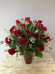 Classic Two Dozen Long-Stem Roses