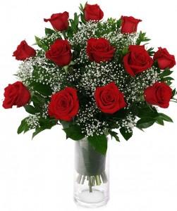 CLASSIC VALENTINE'S ROSES ARRANGEMENT