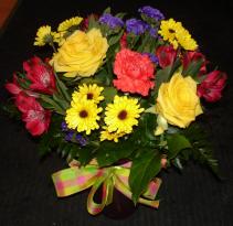 Classic Vase Arrangement of Flowers