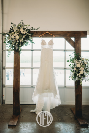Classic White  Arch Florals