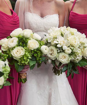 Classic White Bridal Bouquet in Bethel, CT | BETHEL FLOWER MARKET OF STONY HILL