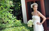 Classic White Bridal Bridal Bouquet