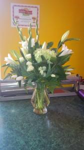 Classic White Vase