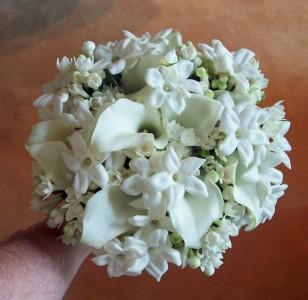 Clic White Wedding Bouquet In