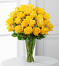 Classic Yellow Roses Rose Arrangement