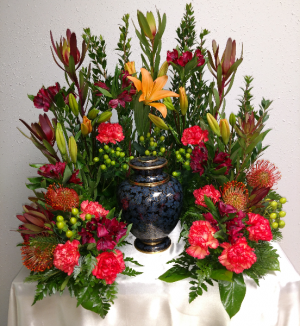 Classical Urn Arrangement  in Highmore, SD | Amber Waves Floral & Gifts