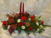 CLASSICE CANDLE TABLE CENTRE Christmas arrangement