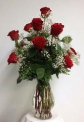 Classis Red Rose Arrangement Red Rose Arrangement