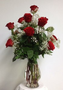 Classis Red Rose Arrangement Red Rose Arrangement in Culpeper, VA | RANDY'S FLOWERS BY ENDLESS CREATIONS