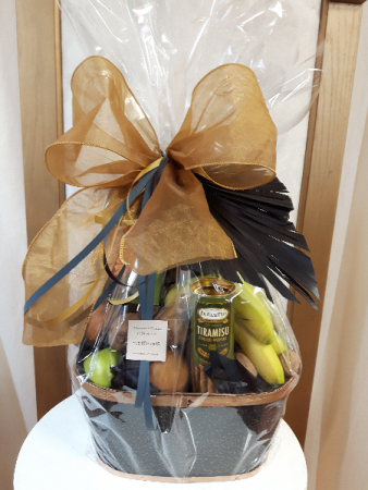 Classy and Bold  Fruit Basket