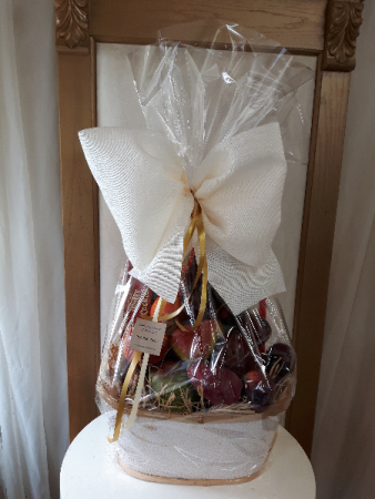 Classy and Bright  Fruit Basket